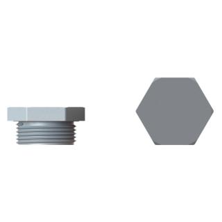 Plastové šesťhranné zátky z Polyamidu s Metrickým závitom
